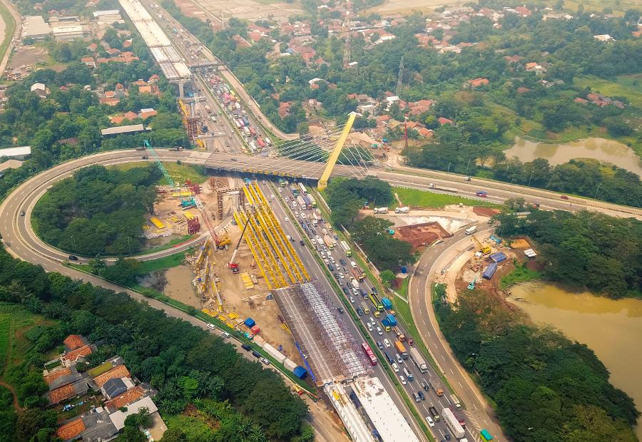 Image Access Cikampek KM 21 Toll Road 1