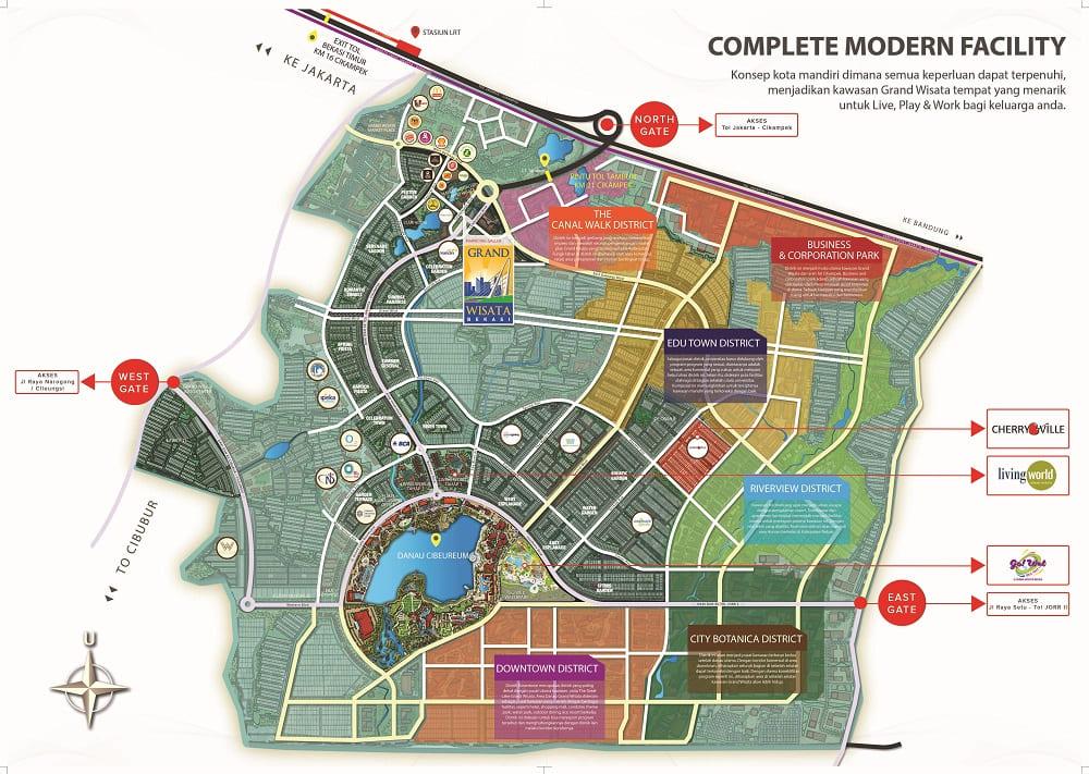 Master plan Cherry Ville Phase 2