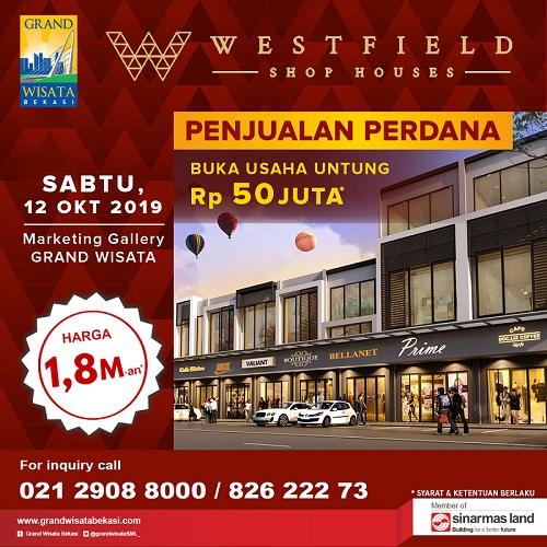 Image Penjualan Perdana Ruko Westfield